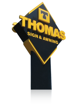 Thomas Sign Is Founded And Hand Painted Signs Are The Primary Business
