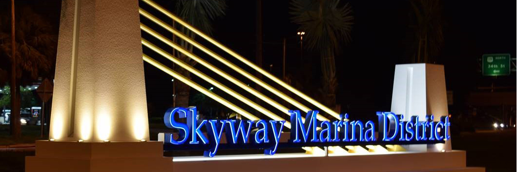 Skyway Marina District Identity Emerges